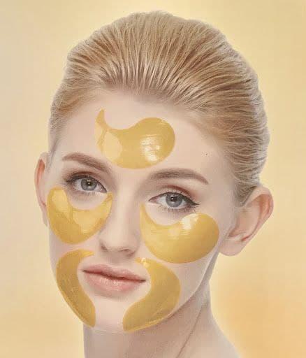ماسک زیر چشم طلا و کلاژن